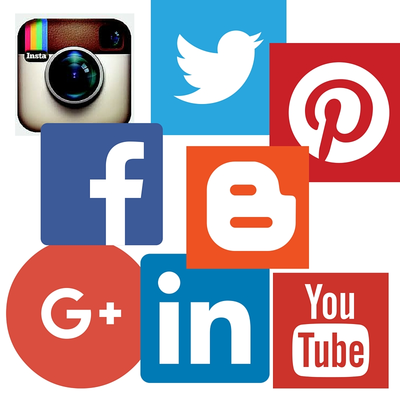 Social Media Icons, social marketing